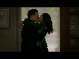 The Vampire Diaries 8x11 - Bonnie and Enzo kiss, Damon talks to her about Elena's bloodCure HD