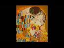 Рисование картины по номерам Г.Климт Поцелуй / Gustav Klimt, The Kiss (Painting by numbers)
