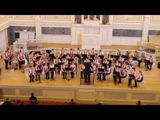 Концерт 15.12.2016 (Капелла) Образцовый духовой оркестр ДШИ им.Свиридова, рук. В.Г.Ефи...