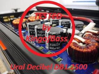 Замер мощности и тест на выносливость усилителя Ural Decibel DB1.2500