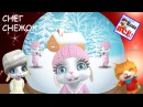 Снег снежок с zoobe зайкой. Песенка мультик видео для детей.