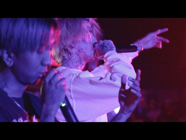 Lil peep - big city blues w/ cold hart right here w/ horse head live at nature world