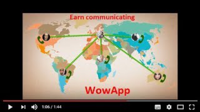 WowApp - общение и заработок от него. Двойное удовольствие.