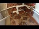 Монтаж самой простой системы отопления газовый котел Луч КС 20 электрокотел в одной обвязке