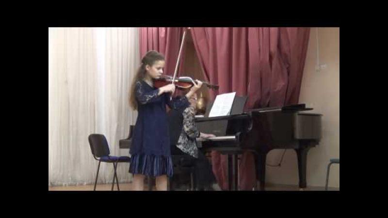 Витали, Чакона исп. Медведко Виолетта, 9 лет. (Vitali, Chaconne plas Medvedko Violetta, 9 y.o.)