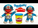 Doreamon Play Doh Stop Motion New Episodes - CCTV toy Channel