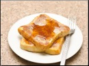 Fast healthy Breakfast: french toast without vanilla recipe