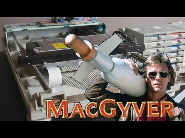 The Floppotron: MacGyver Theme