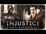 INJUSTICE: GODS AMONG US. Бэтмен VS Джокер