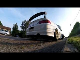 DC5 Integra Type R CT Supercharged - Pazautos Go Pro Sessions Hero4