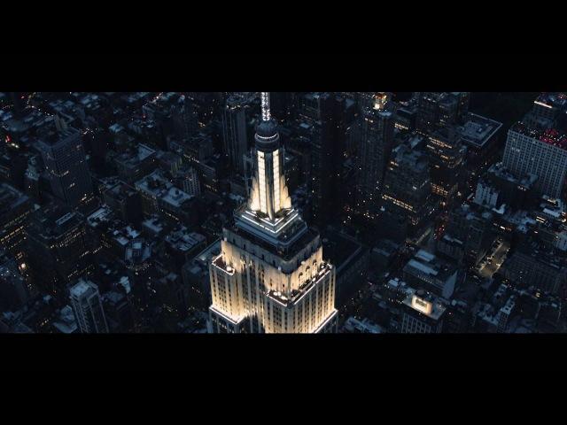 Stunning New York City Skyline at Night HD смотреть онлайн без регистрации