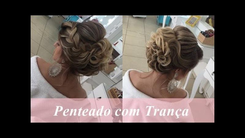 Penteado em cabelo curto 2 por Priscila Barbosa