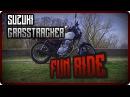 Suzuki grasstracker 250 fun ride video