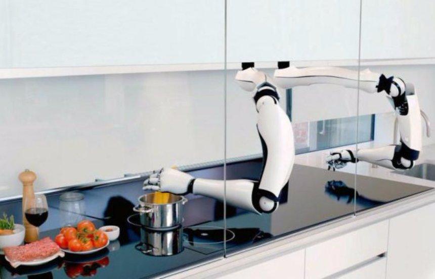 9O7b9NrtLqU Создан робот-кулинар, который сделает все за вас