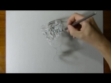 5 Самых Крутых 3D Рисунков От Руки