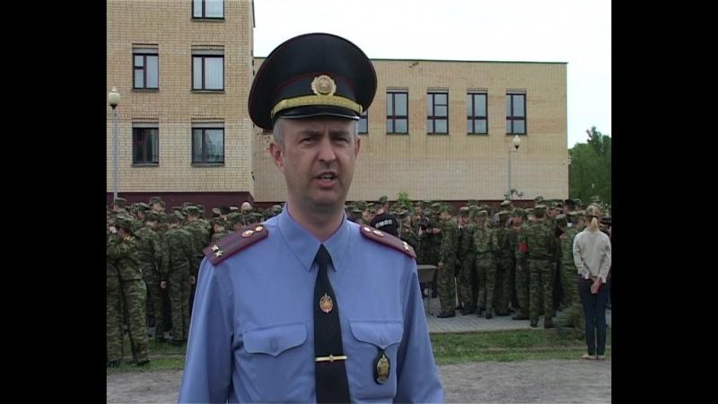 Отдел милиции особого назначения побывал в гостях у кадетов