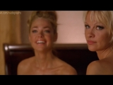 Обнаженные Памела Андерсон (Pamela Anderson) и Дениз Ричардс (Denise Richards) - Блондинка и блондинка (Blonde and Blonder)