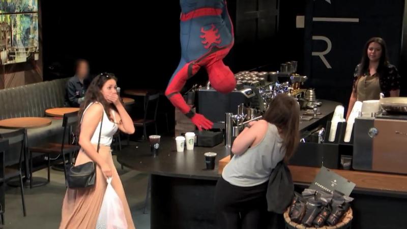 Человек-паук: Возвращение домой: Промо-ролик 2 (англ.)
