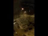 Пожар в общежитии на ул. Попова в Смоленске