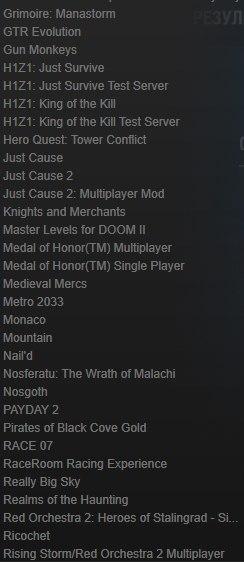 Продам Steam Аккаунт