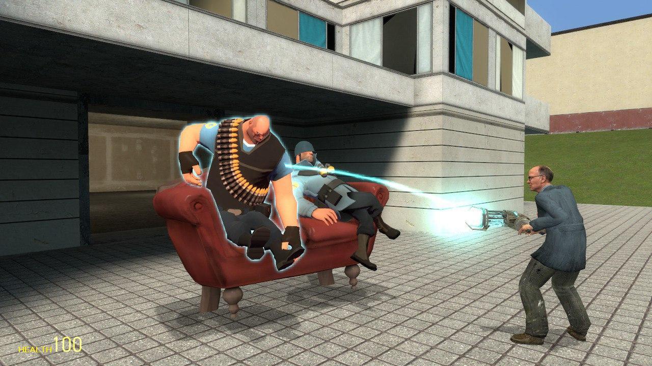 Скриншот игры Garry's Mod