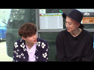170712 EXO Chanyeol & Suho @ Lets Eat Dinner Together