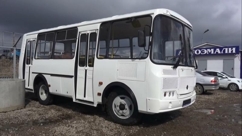 Тест-драйв ПАЗ-32054