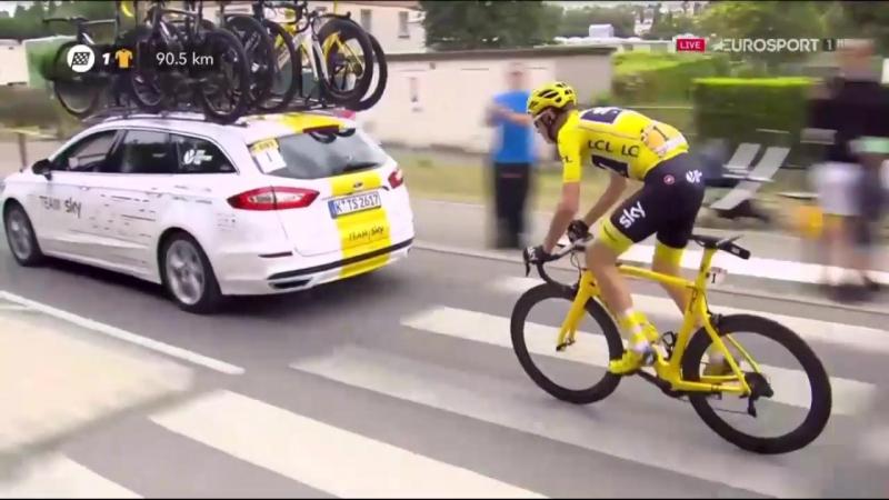 Тур де Франс 2017. Этап 21. Часть 1.