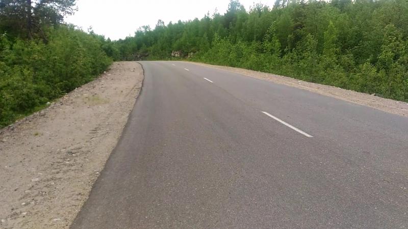 Дорога 84-85 Финка(( печаль