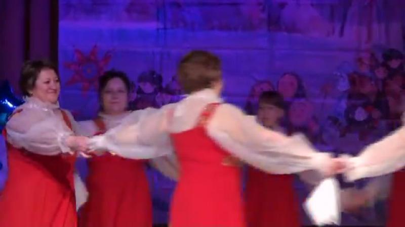 фестиваль Рождественская звезда танец под песню' РОССИЯ'