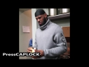 LeBron James Eats Raw Garlic After Losing Bet To Son LeBron James Jr.