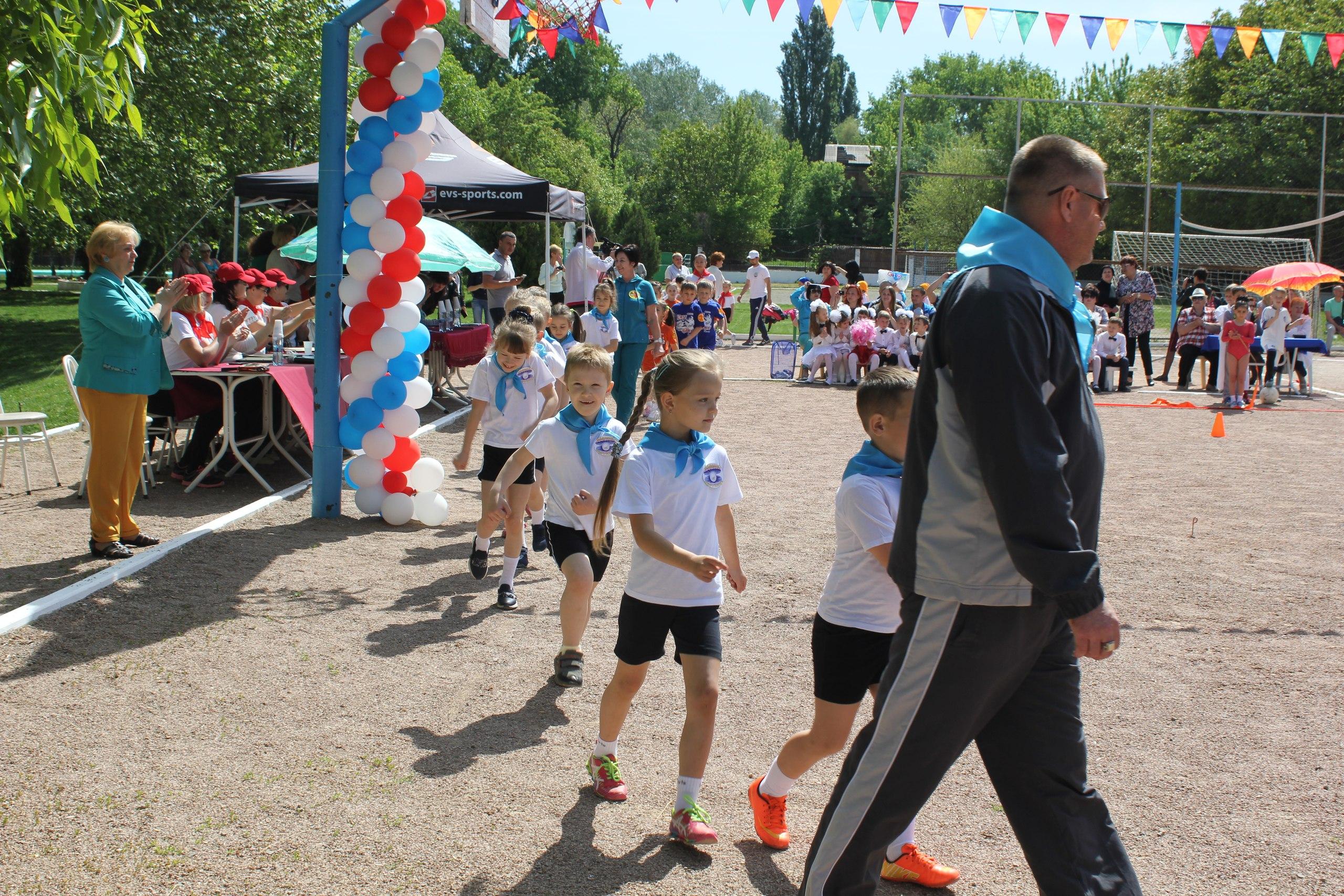Городские соревнования дошкольников