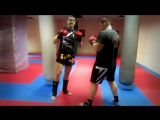 Тайский бокс Обучение - Как нужно работать вторым номером в ринге и для самообороны на улице