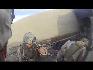Выстрел из снайперской винтовки в голову