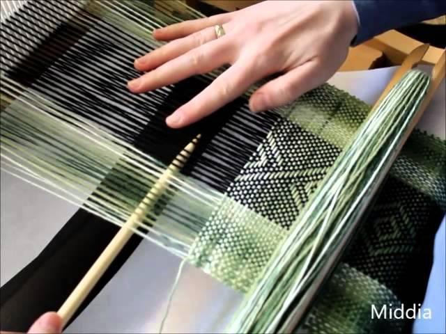 Tkanie na krosnach - Weaving on a rigid heddle