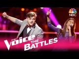 The Voice 2017 Battle - Aliyah Moulden vs. Dawson Coyle