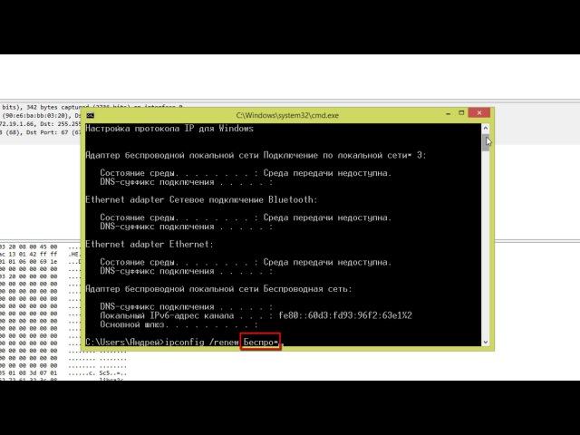 Протокол DHCP в Wireshark | Практика по курсу Компьютерные сети