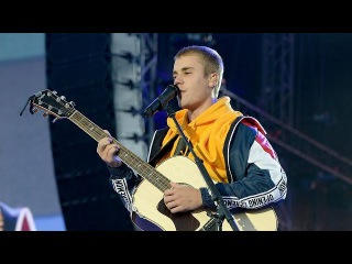 Justin Bieber - Love Yourself & Cold Water [Live Acoustic] [Full performance] (One Love Manchester)