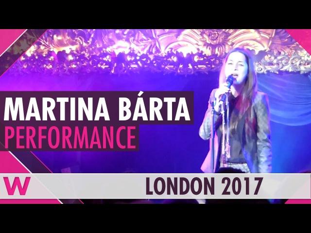 Martina Bárta My Turn (Czech Republic 2017) LIVE @ London Eurovision Party 2017