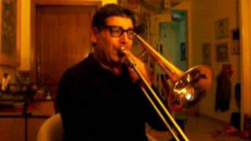 Bordogni Marco - Vocalizzo n. 8 - trascr. J. Rochut, ed. Carl Fischer - trombone: Antonio Sicoli