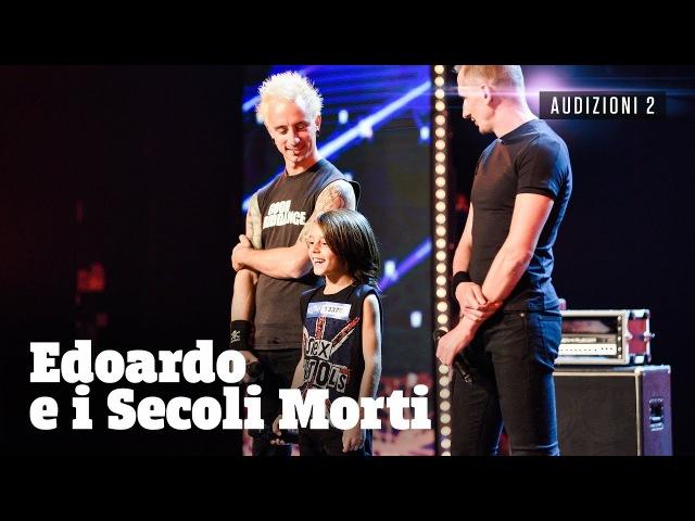 Edoardo piccolo batterista punk rock