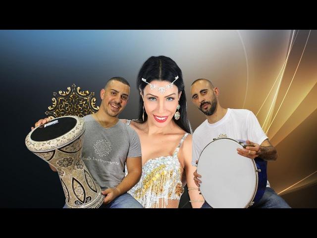 Shik Shak Shok - Belly Dancer Arabic Sombaty Plus Darbuka ,Bandir and Sagat