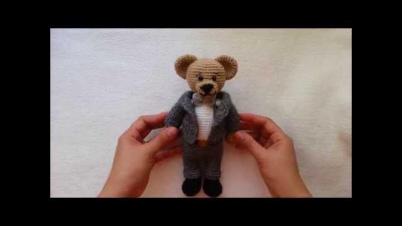 HOW TO CROCHET SUIT MARRIED BEAR CROCHET
