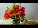 Легкие цветы из бисера для начинающих КРАСКИ ЛЕТА Бисер схема
