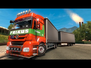 MERCEDES-BENZ AXOR + ADDONS v6.0 1.26 ETS2 (Euro Truck Simulator 2) Free Download