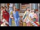 Библейский сюжет Император Константин и царица Елена Храм Гроба Господня в Иерусалиме