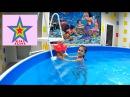 Кукла Baby Born плаваем в бассейне Doll Baby Born swim in the pool