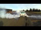 Rabbit MK1 4.2L V8 Mid Engine Burn Out