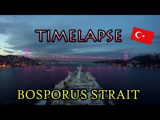 Istanbul / Bosporus Strait Time Lapse