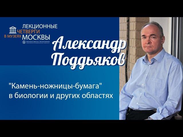Александр Поддьяков. Камень-ножницы-бумага в биологии и других областях